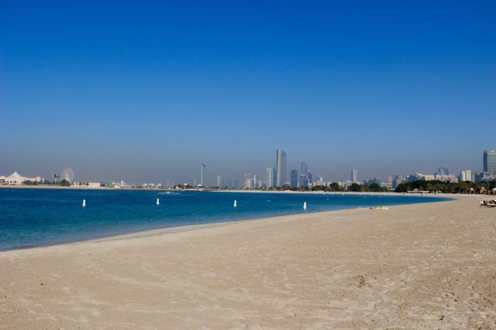 Emirates Palace Private Beach