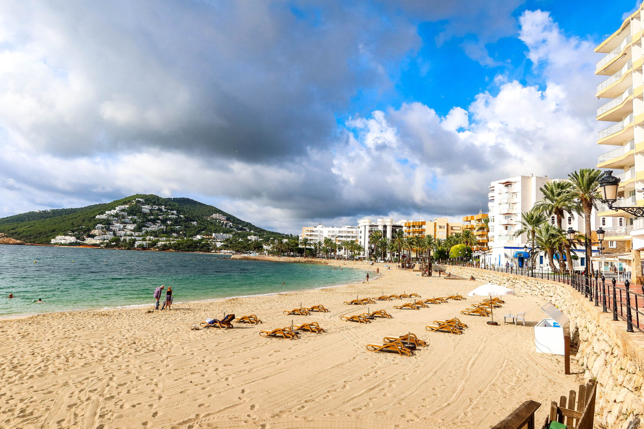 Photo: Santa Eularia Beach
