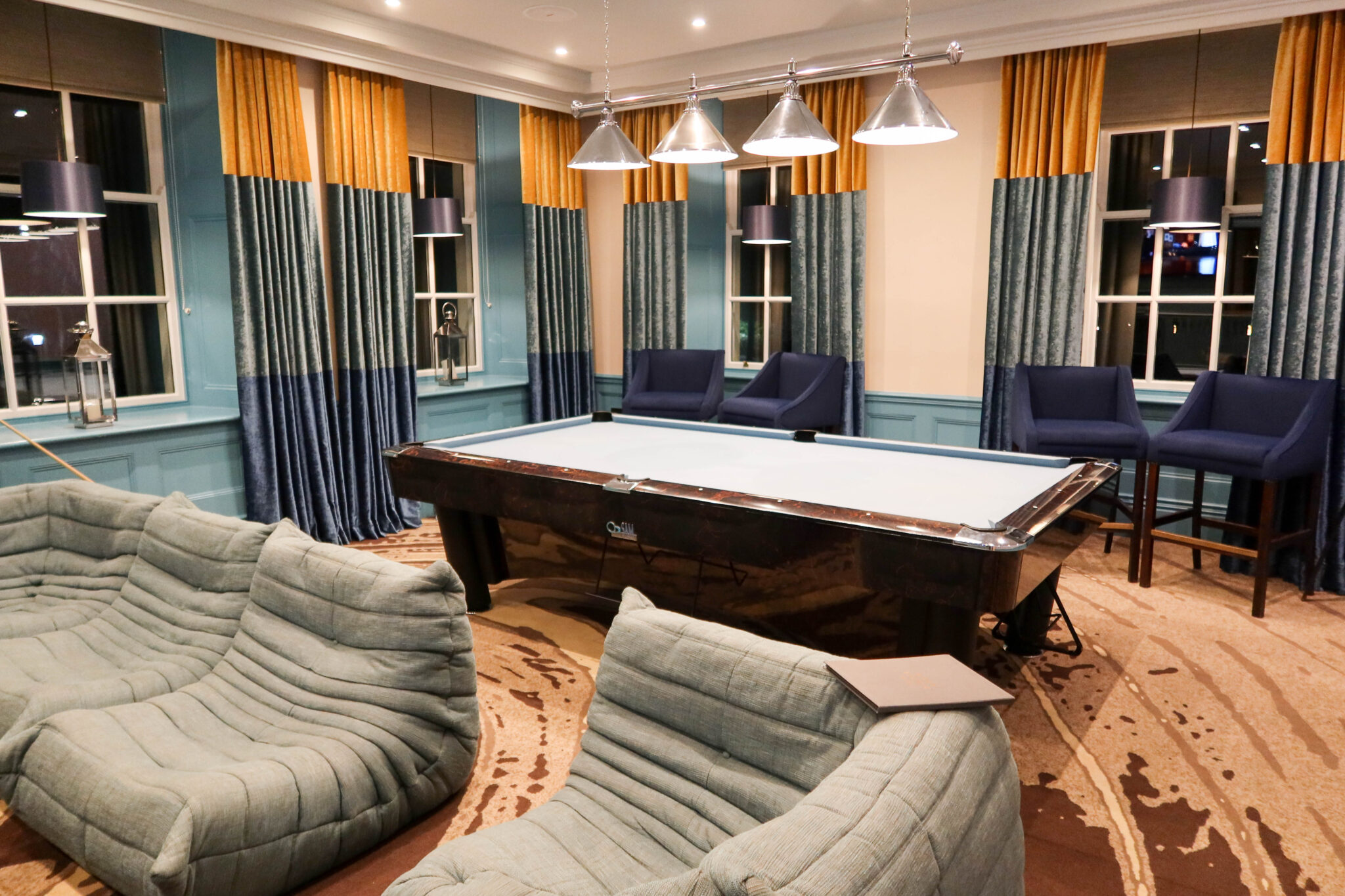 Games Room at Seaham Hall
